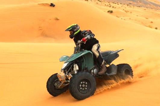 safari with quad bike
